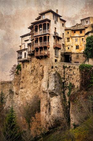Fotografía vertical Casas Colgadas de Cuenca nº01