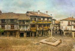 Fotografía horizontal de la Alberca, en Salamanca nº01