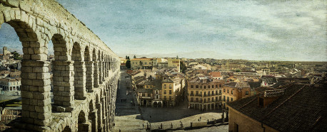 Fotografía panorámica de Segovia nº01