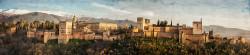 Fotografía panorámica de La Alhambra de Granada nº02