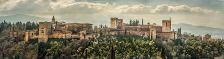 Fotografía panorámica de La Alhambra de Granada nº08