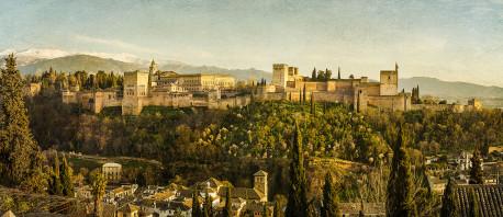 Fotografía panorámica de La Alhambra de Granada nº07