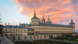 Fotografía panorámica del Real Monasteroi de San Lorenzo de El Escorial nº05