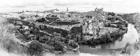 Fotografía panorámica de Toledo nº08