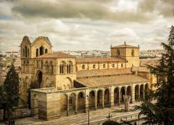 Fotografía horizontal de la Iglesía de San Vicente de Ávila nº01