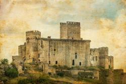 Fotografía horizontal del Castillo Belvis de Monroy, Cáceres nº02