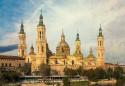 Cuadro horizontal de la Basílica de Nuestra Señora del Pilar de Zaragoza nº01