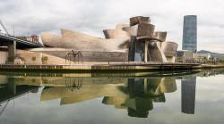 Fotografía panorámica del Museo Guggenheim, Bilbao nº01