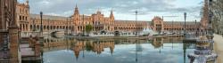 Cuadro panorámico de Plaza de España de Sevilla nº04