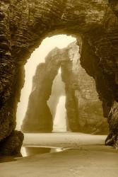 Cuadro vertical Playa de las Catedrales, Lugo nº01