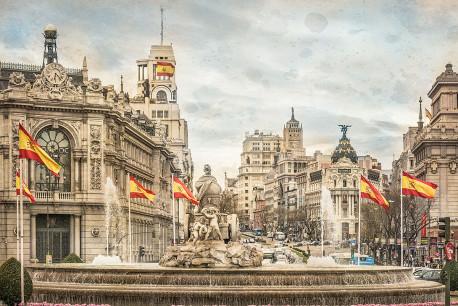 Cuadro fuente de Cibeles de Madrid nº04