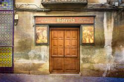 Cuadro fachada Botería de Madrid nº01