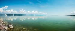 Fotografía panorámica Lago Balaton, Hungria nº01