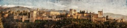 Fotografía panorámica de La Alhambra de Granada nº01