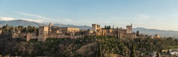 Fotografía panorámica de La Alhambra de Granada nº09