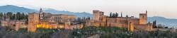 Fotografía panorámica de La Alhambra de Granada nº10