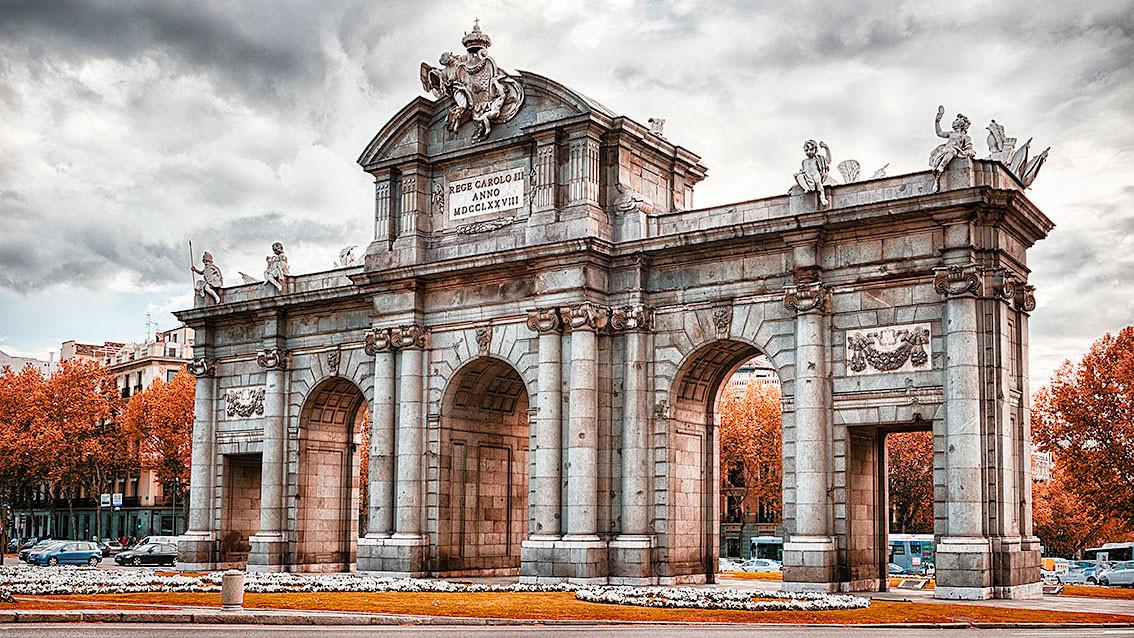 Cuadro de la Puerta de Alcalá de Madrid