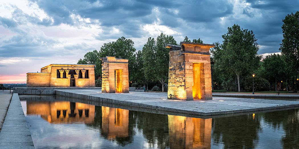 Cuadro Templo de Debod , Madrid