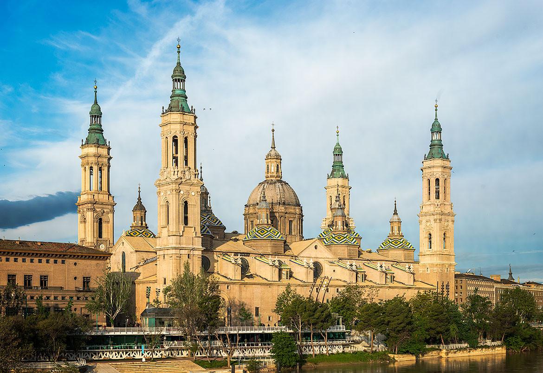 Cuadro de la Basílica de Nuestra Señora del Pilar de Zaragoza